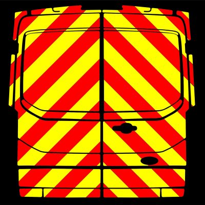 Ford Transit H2 Van Chevrons Full Height Kit (2014 - Present)